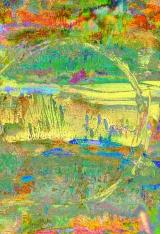 Retrett – dager.  /foto, monotypi, vannfarge,skisse/